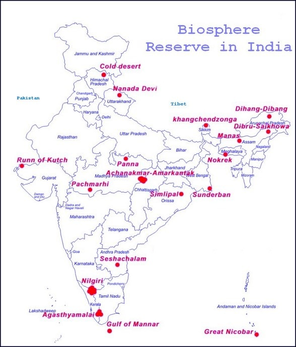 Biosphere Reserve in India