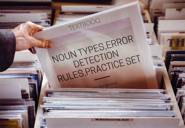 Noun Types,Error Detection Rules,Practice Set