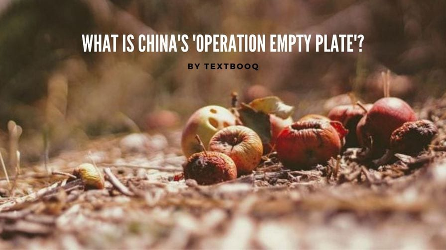 What is China's 'Operation Empty Plate'