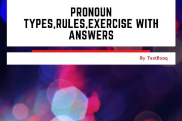 Pronoun Types,Rules,Exercise With Answers