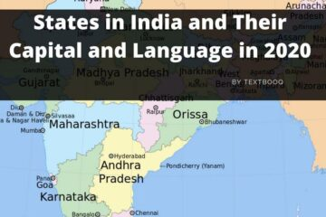 States in India and Their Capital and Language in 2020