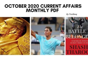 October 2020 Current Affairs Monthly PDF