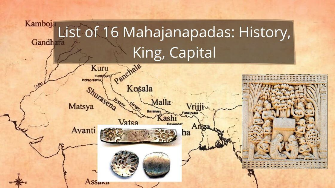 List of 16 Mahajanapadas_ History, King, Capital