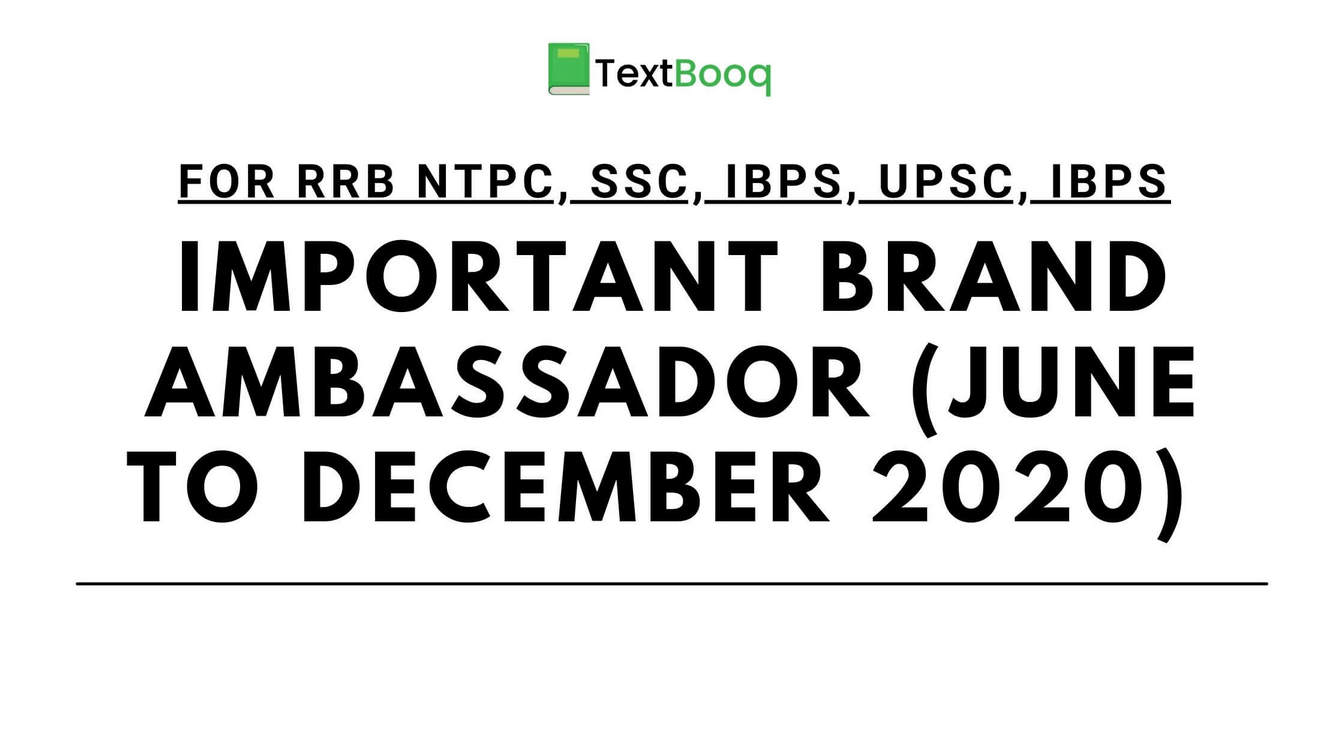 Important Brand Ambassador (June to December 2020) PDF