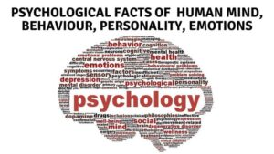 Psychological Facts of Human Behaviour, Personality, Emotions
