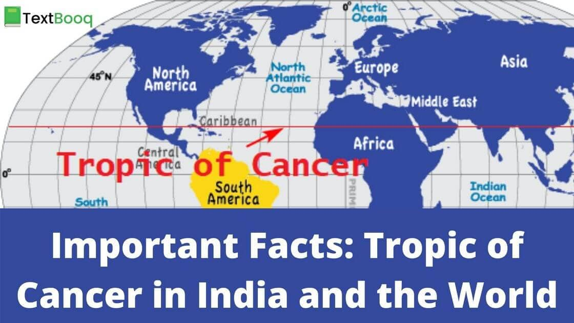 Important Facts: Tropic of Cancer in India and the World