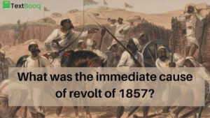 What was the immediate cause of revolt of 1857
